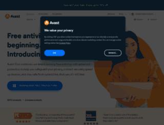 files.avast.com screenshot