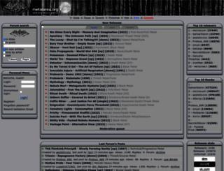 files.metalarea.org screenshot