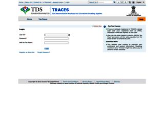files.tdscpc.gov.in screenshot