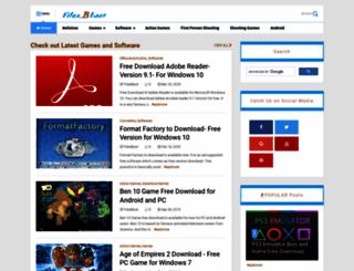 filesblast.net screenshot