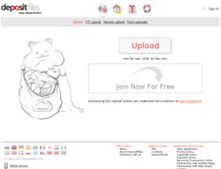 fileshare1010.depositfiles.com screenshot