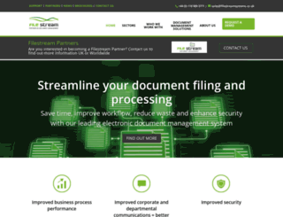 filestreamsystems.co.uk screenshot