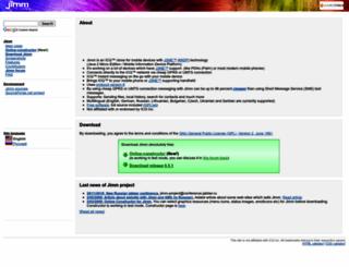 filetransfer.jimm.org screenshot