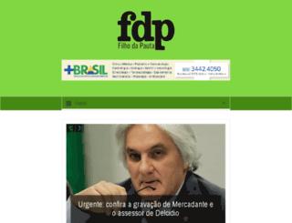 filhodapauta.com screenshot