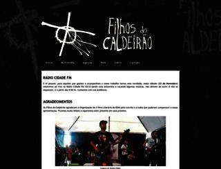 filhosdocaldeirao1.blogspot.com.br screenshot