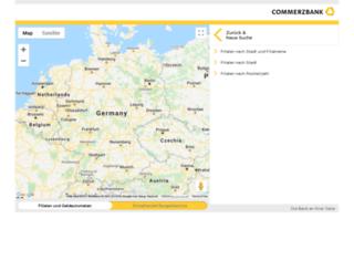 filialsuche.commerzbank.de screenshot
