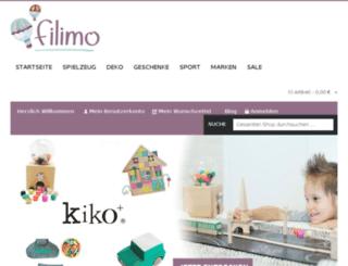 filimo.test-rackspeed.de screenshot