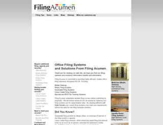 filing-acumen.co.uk screenshot