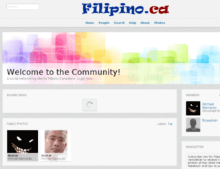filipino.ca screenshot