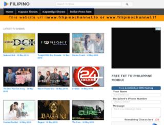 filipinochannel.tf screenshot