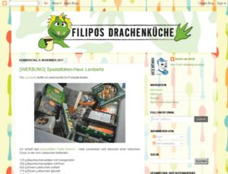 filiposdrachenkueche.blogspot.com screenshot
