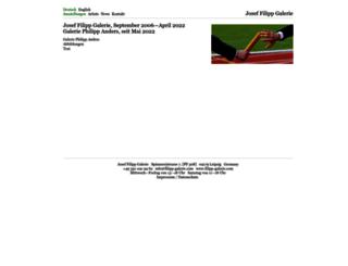 filipp-galerie.com screenshot