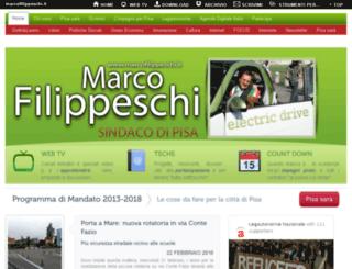 filippeschi.redirectme.net screenshot