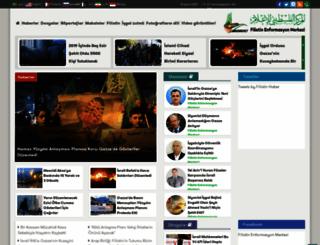filistinhaber.com screenshot