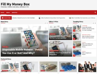 fillmymoneybox.com screenshot