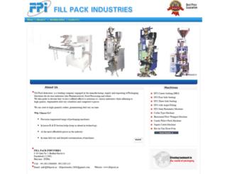 fillpack.in screenshot