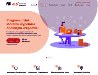 fillup.pl screenshot