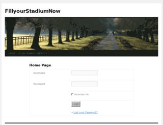 fillyourstadiumnow.com screenshot