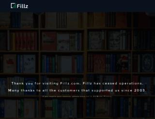 fillz.com screenshot