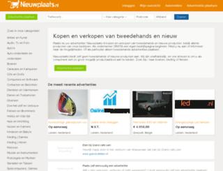 film-en-muziek.nieuwplaats.nl screenshot