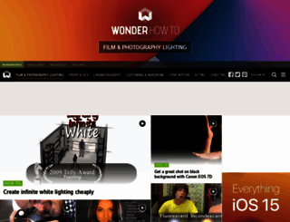 film-lighting.wonderhowto.com screenshot