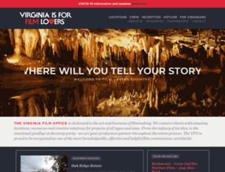 film.virginia.org screenshot