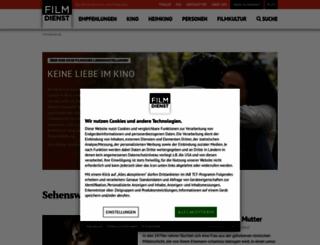 filmdienst.de screenshot