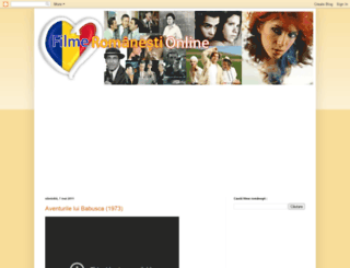 filme-romania.blogspot.com screenshot