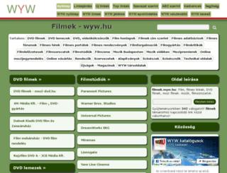 filmek.wyw.hu screenshot