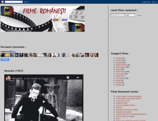 filmeromania.blogspot.com screenshot