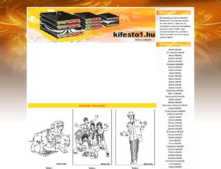 filmes-kifestok.kifesto1.hu screenshot