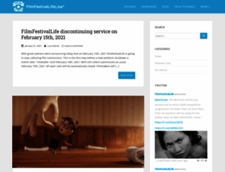 filmfestivallife.com screenshot