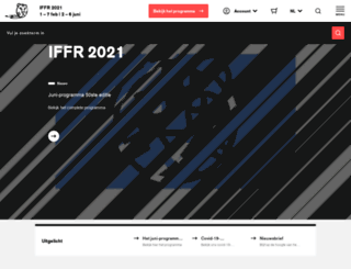 filmfestivalrotterdam.com screenshot