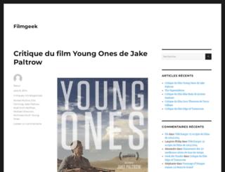 filmgeek.fr screenshot