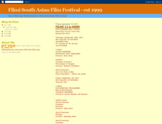 filmifestival.blogspot.com screenshot