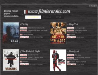 filmlerarsivi.com screenshot