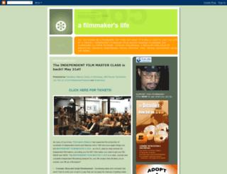 filmmakerslife.blogspot.com screenshot
