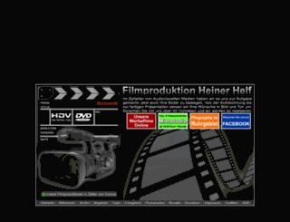 filmproduktion-helf.de screenshot