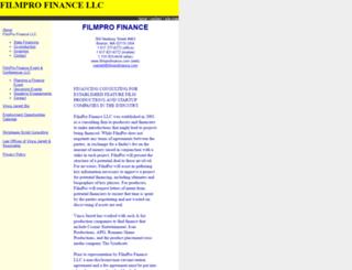 filmprofinance.com screenshot