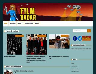 filmradar.com screenshot