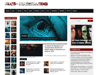 films-horreur.com screenshot