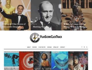 filmscoreclicktrack.com screenshot