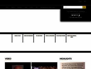 filmsdivision.org screenshot