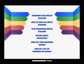 filmsenzalimiti.it screenshot