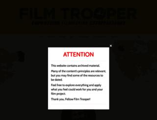 filmtrooper.com screenshot