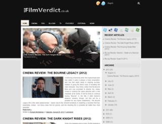 filmverdict.blogspot.com screenshot