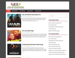 filmysongs.info screenshot