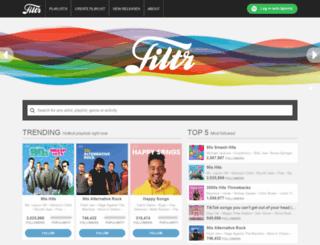 filtr.com screenshot