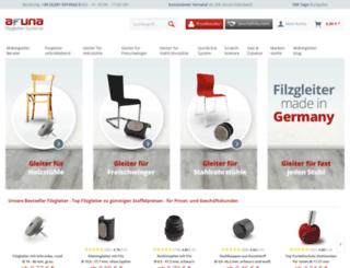 filzgleiter-shop.de screenshot