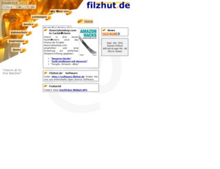 filzhut.net screenshot